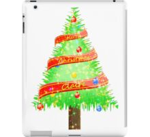 Merry Christmas Claire iPad Case/Skin