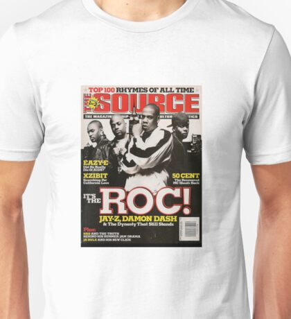 Jay-Z, The ROC, Source Magazine Cover Unisex T-Shirt