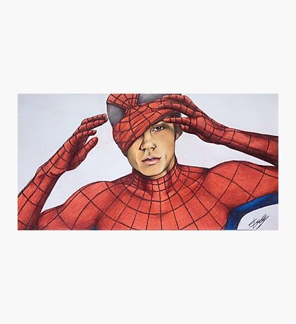 Dylan O'Brien|Spider-Man Photographic Print