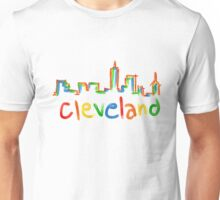 Colorful CLE  Unisex T-Shirt