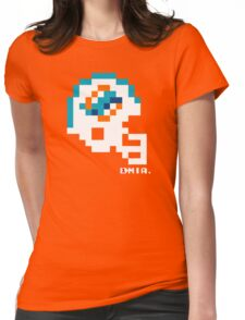 MIA Current Helmet - Tecmo Bowl shirt Womens Fitted T-Shirt