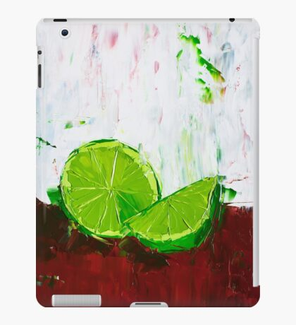 Zesting a Lime iPad Case/Skin