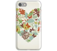 Plant heart iPhone Case/Skin