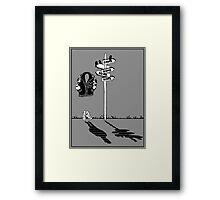 'Get Home' Framed Print