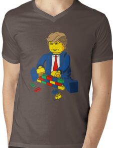 Build A Wall Trump T-Shirt T-Shirt Mens V-Neck T-Shirt