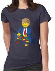 Build A Wall Trump T-Shirt T-Shirt Womens Fitted T-Shirt
