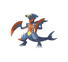 Mega Evolution Garchomp Photographic Print