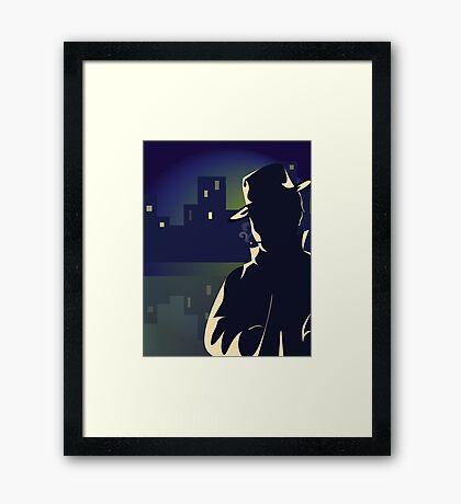 Mysterious Man Framed Print