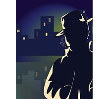 Mysterious Man Photographic Print
