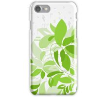 Plant music iPhone Case/Skin