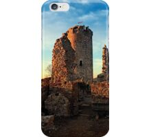The ruins of Waxenberg castle | architectural photography iPhone Case/Skin