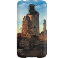 The ruins of Waxenberg castle | architectural photography Samsung Galaxy Case/Skin