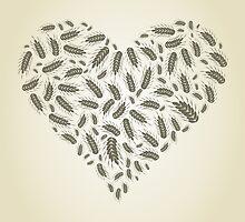 Wheat heart by Aleksander1