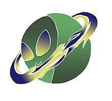 Alien Sphere Photographic Print