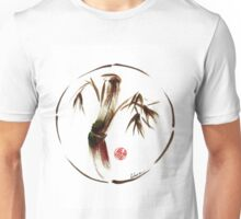 """eternity"" :  Enso sumi-e dry brush acrylic painting   Unisex T-Shirt"