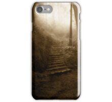 Mountain Steps (Holga) iPhone Case/Skin