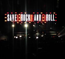 Save rock and roll  by Kamholz