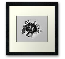 Abstract 3d City  Framed Print