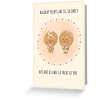 Ginger-couple Greeting Card