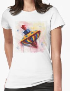Spinning Top - keep on spinning - retro T-Shirt