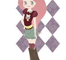 Pink hair girl! by Pumulla