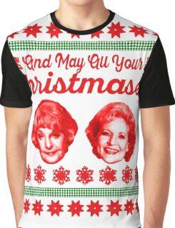 Golden Girls Christmas Graphic T-Shirt