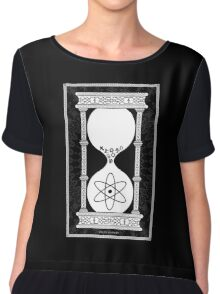 Religion's Time is Running Out Chiffon Top