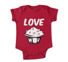 LOVE MUFFIN One Piece - Short Sleeve