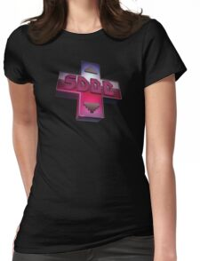 Super Deformed Gamescast Dpad Logo  Womens Fitted T-Shirt