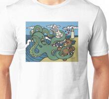 Teddy Bear And Bunny - Epic Battle Unisex T-Shirt
