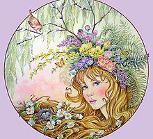 Spring Goddess by BDMillustration