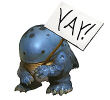 Yay Quaggan Photographic Print