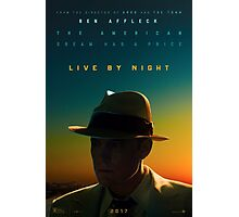 Live By Night Poster Photographic Print