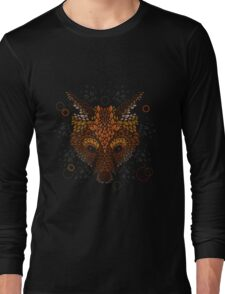 Fox Face Long Sleeve T-Shirt