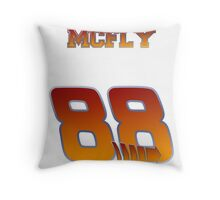 Team McFly, get on board...hoverboard. Throw Pillow