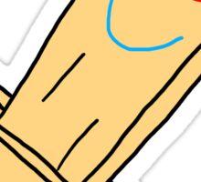 Plank Magisword! Sticker