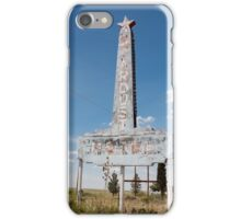 Abandoned Stardust Motel. Marfa, Texas iPhone Case/Skin