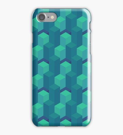Seafoam Isometric iPhone Case/Skin