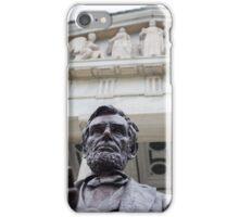 Lincoln Statue. Buffalo, New York. iPhone Case/Skin