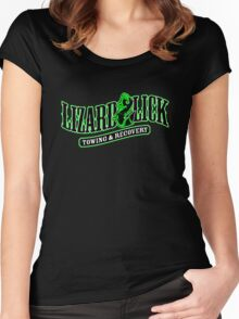 Lizard lick recovery welcome Women's Fitted Scoop T-Shirt