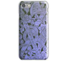 Ancient Thai Blue iPhone Case/Skin