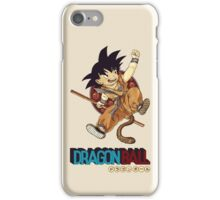 Son Goku & Nyoi Bo iPhone Case/Skin