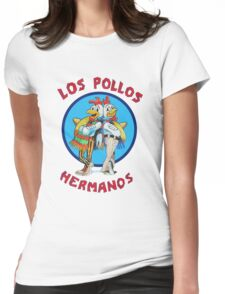 Los pollos hermanos tv Womens Fitted T-Shirt