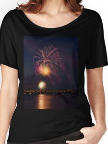 New Years Eve Fireworks Women's Relaxed Fit T-Shirt
