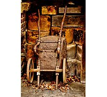 Old wheelbarrow Photographic Print