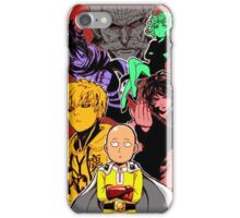 One Punch Man Characters iPhone Case/Skin