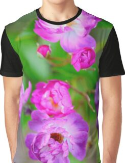 Rambling Rose Graphic T-Shirt