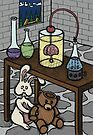 Teddy Bear and Bunny - The Rescue Came Too Late by Brett Gilbert
