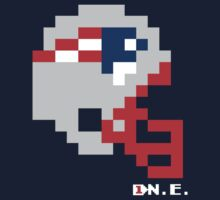 New England Helmet - Tecmo Bowl Shirt Kids Tee