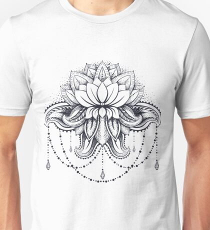 ornamental Lotus Unisex T-Shirt